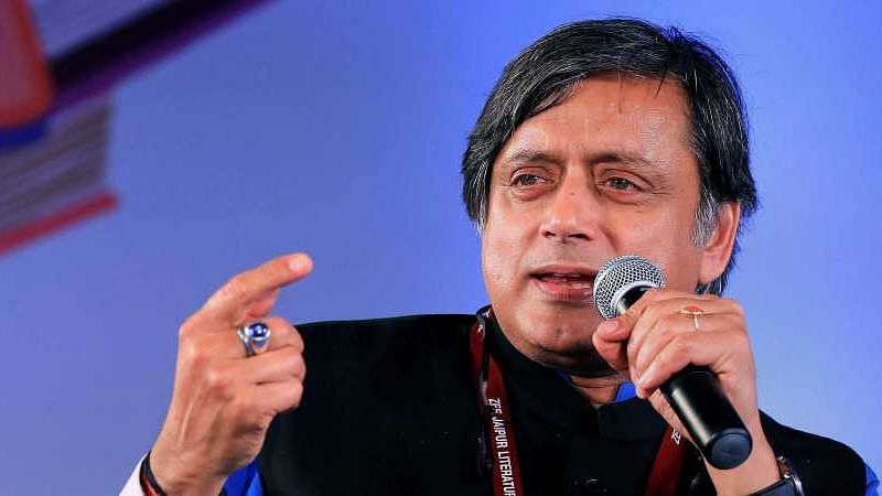 Senior Congress leader and MP Shashi Tharoor.