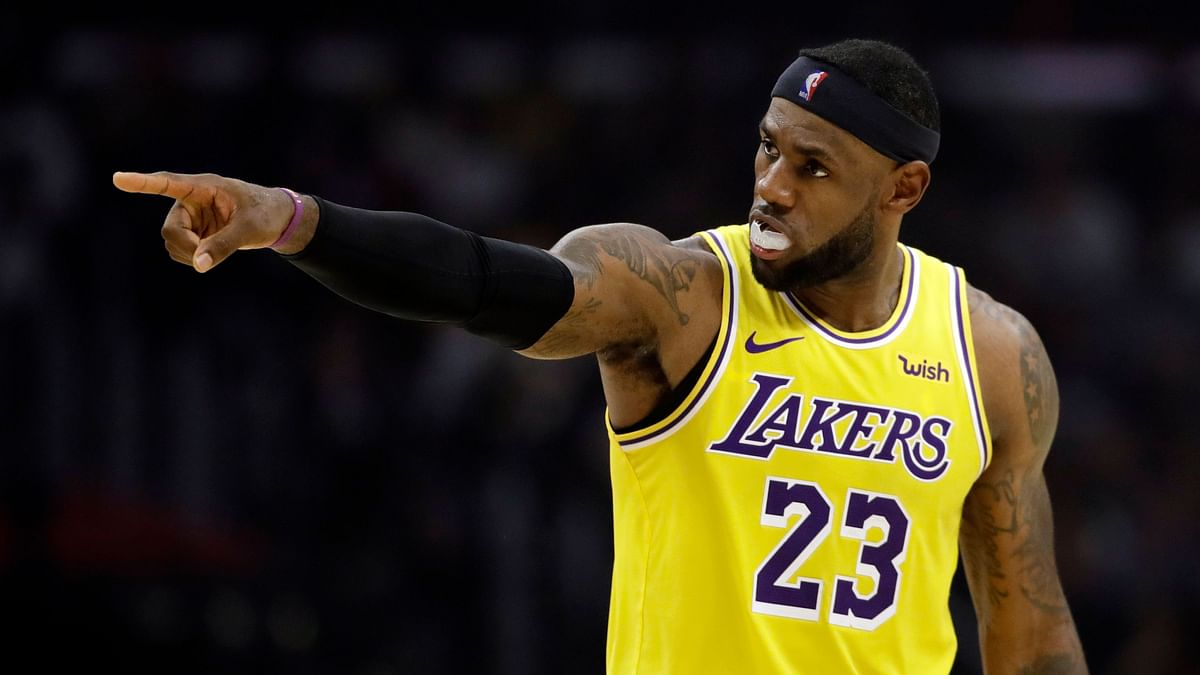 Don't Think NBA is Sad Losing Trump as Viewer, Says LeBron James