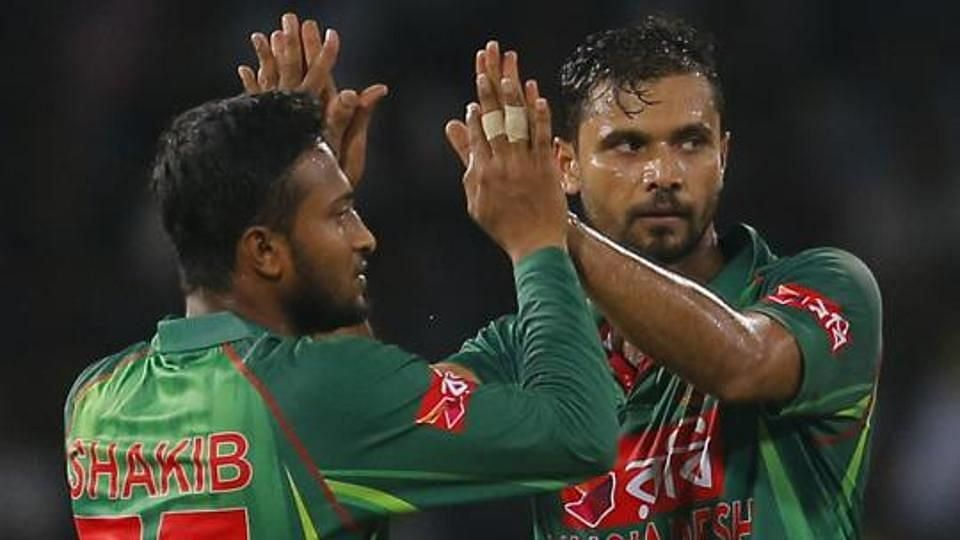 Mashrafe, Shakib Axed From B'desh's Central Contract List