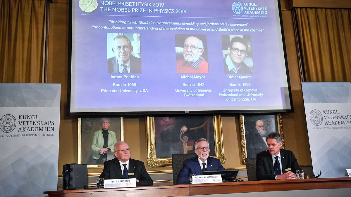 3 Win Nobel Prize in Physics for Work in Understanding of Universe