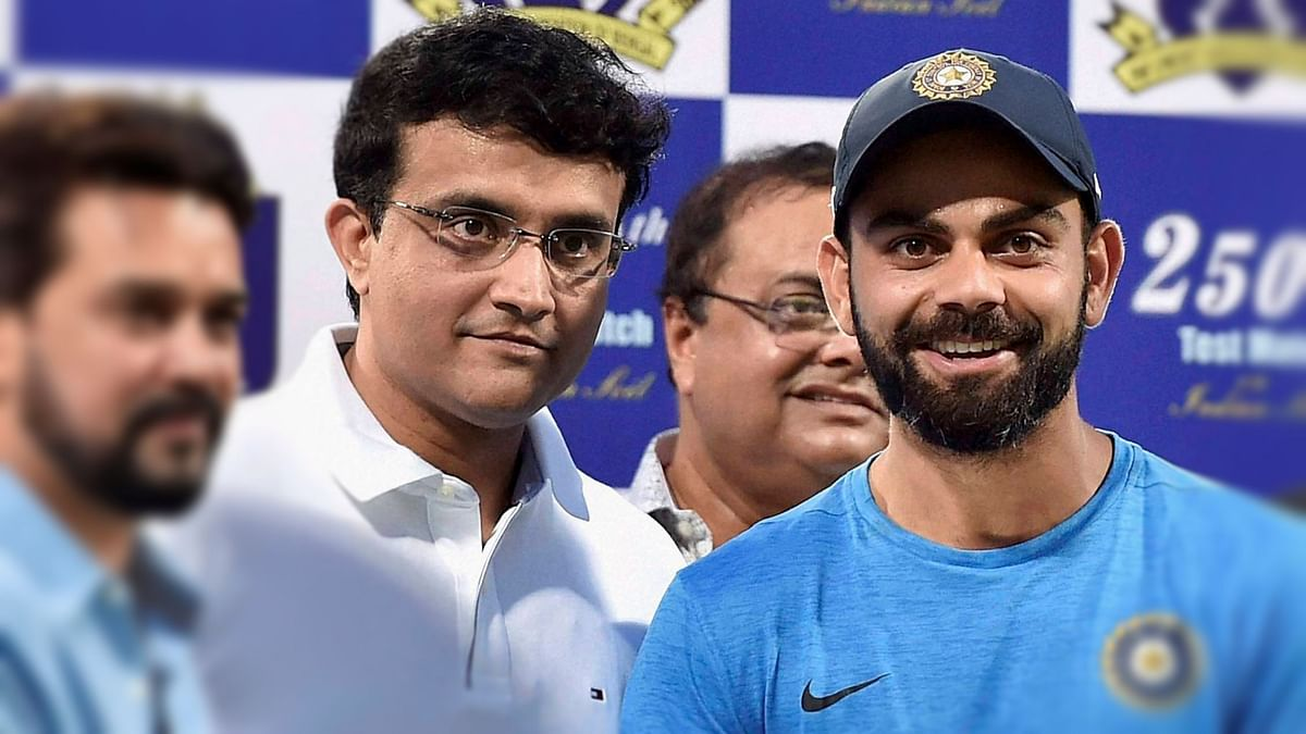 Sourav Ganguly addressed some important issues after filing his nomination for the post of the BCCI President.