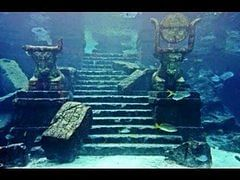 The picture is from the lost city of Atlantis (Reverse Search).