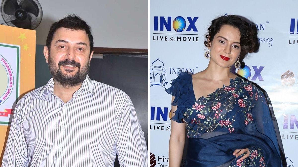 Arvind Swamy to Play MGR in Kangana's Jayalalithaa Biopic