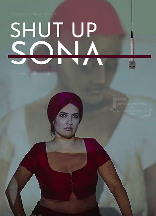 A poster of <i>Shut Up Sona.</i>
