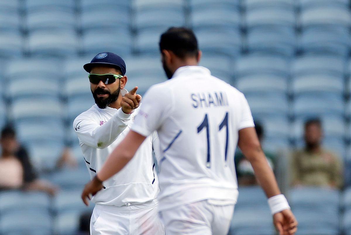 Shami Reveals What He Often Tells Virat After a Dismissal