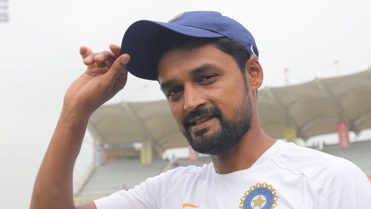 Shahbaz Nadeem was brought into the playing XI against England after Axar Patel was ruled out.