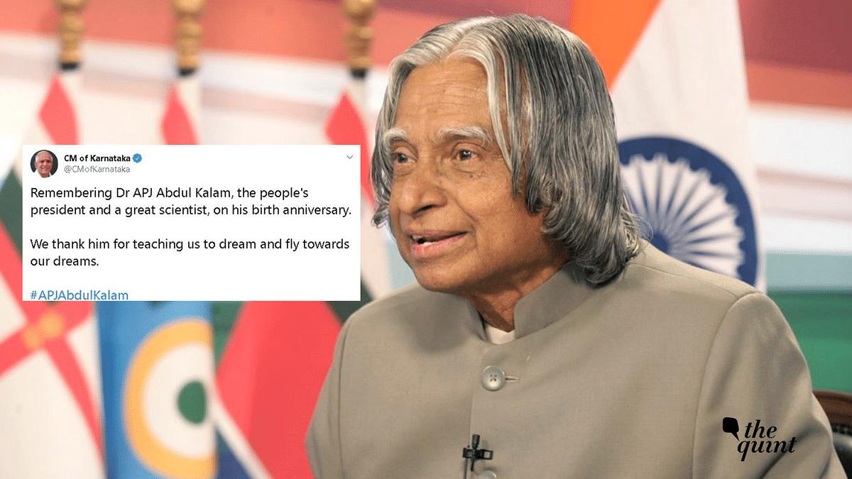 India Celebrates  Former Prez Dr Kalam On His Birth Anniversary