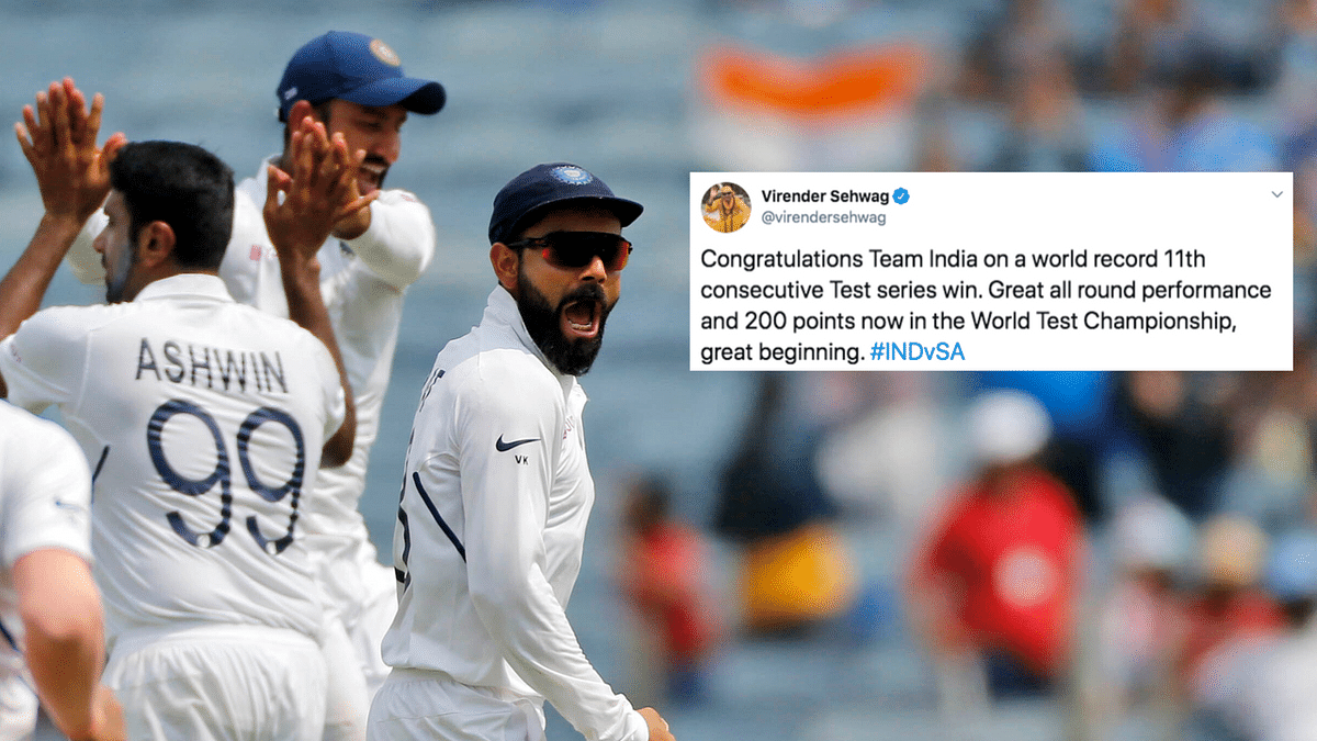 Twitter Celebrates Team India's Historic Series Win at Home vs SA