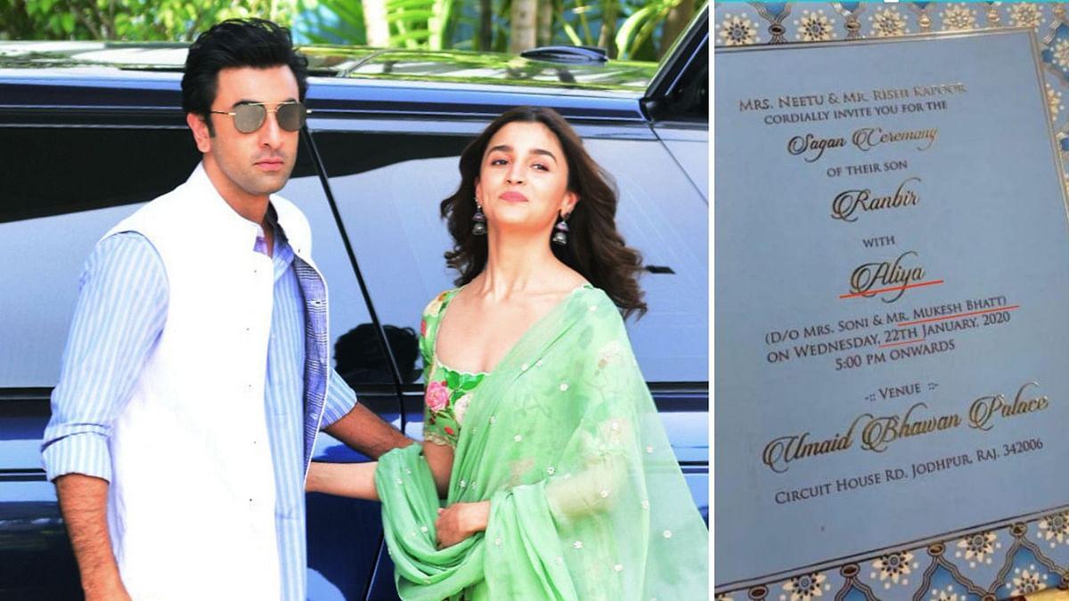 Alia Bhatt has denied rumours that she will tie the knot with Ranbir Kapoor in January 2020.