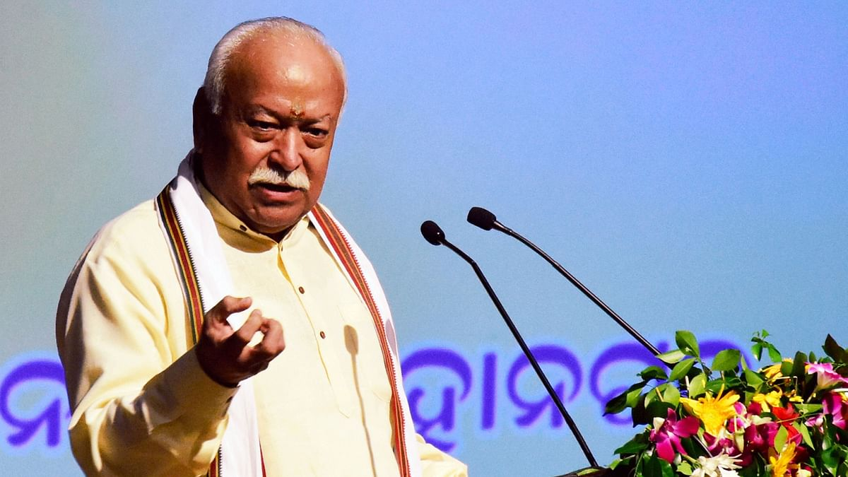 'Muslims  in India Are Happiest,' Says RSS Chief Mohan Bhagwat