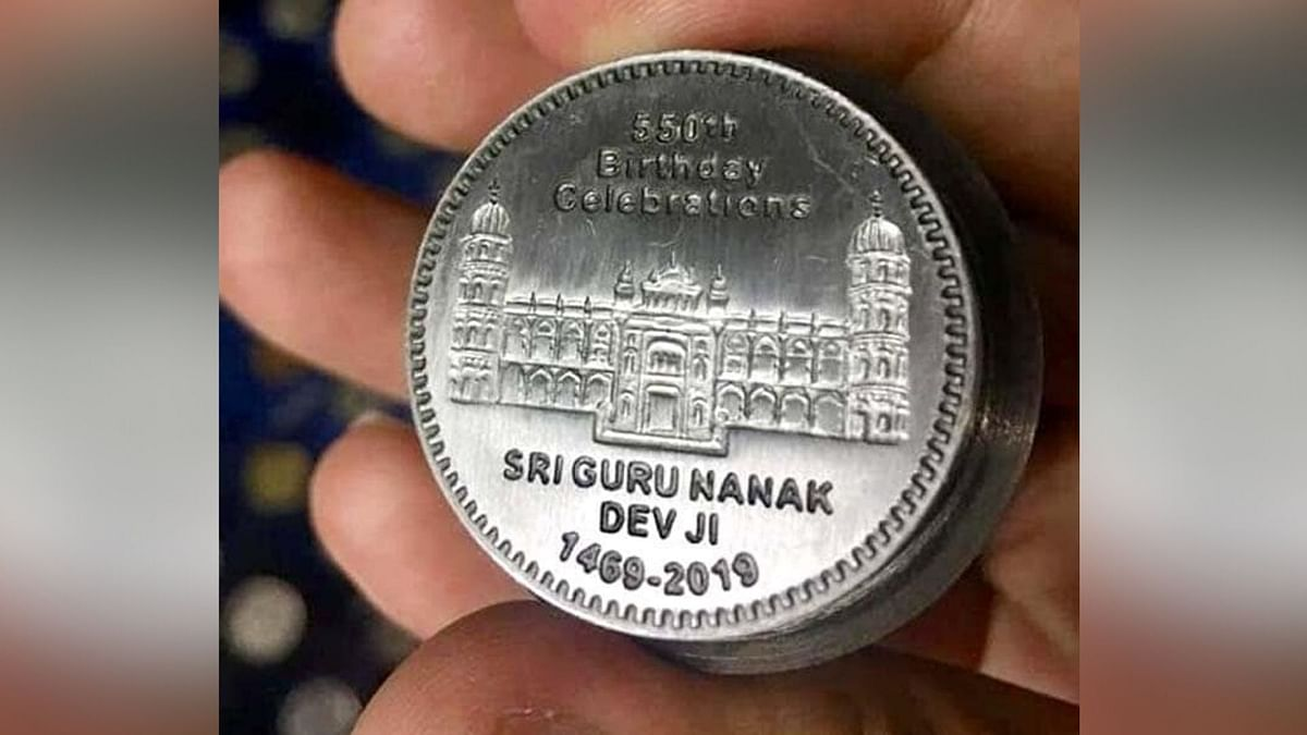 Commemorative Coin Issued to Mark Guru Nanak's 550th Anniversary