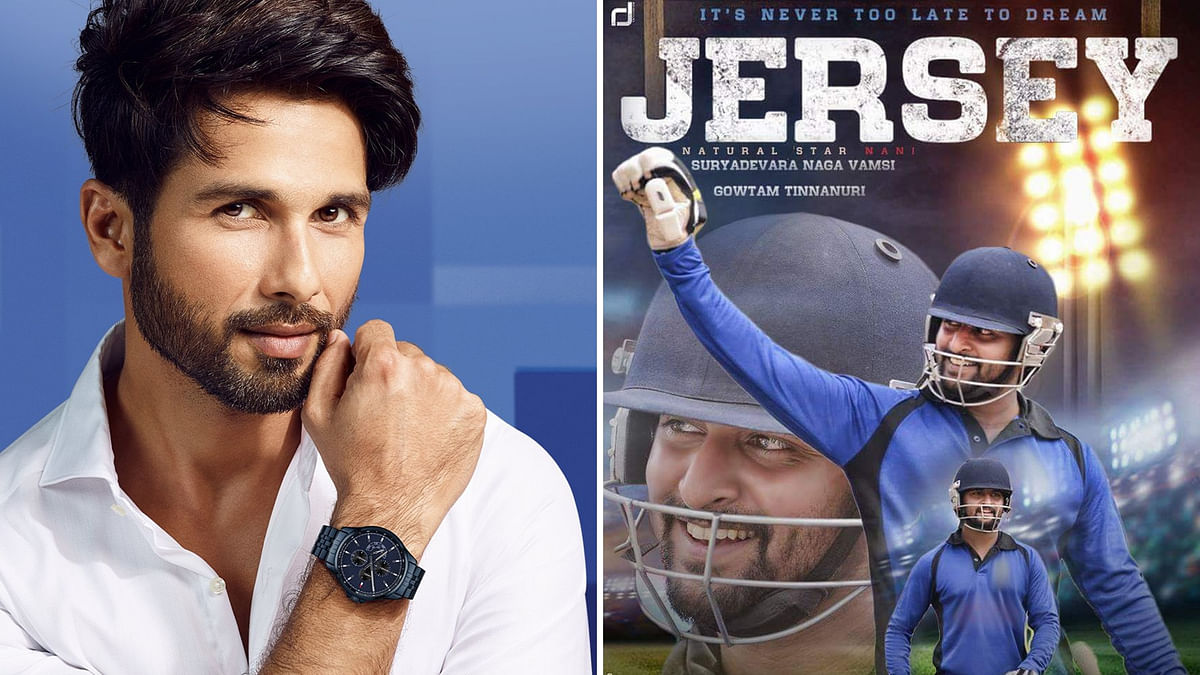 After 'Kabir Singh' Shahid to Star in Remake of Telugu 'Jersey'
