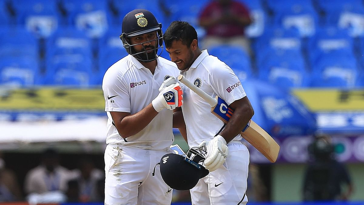 Rohit-Mayank Stitch India's Third-Highest Opening Partnership