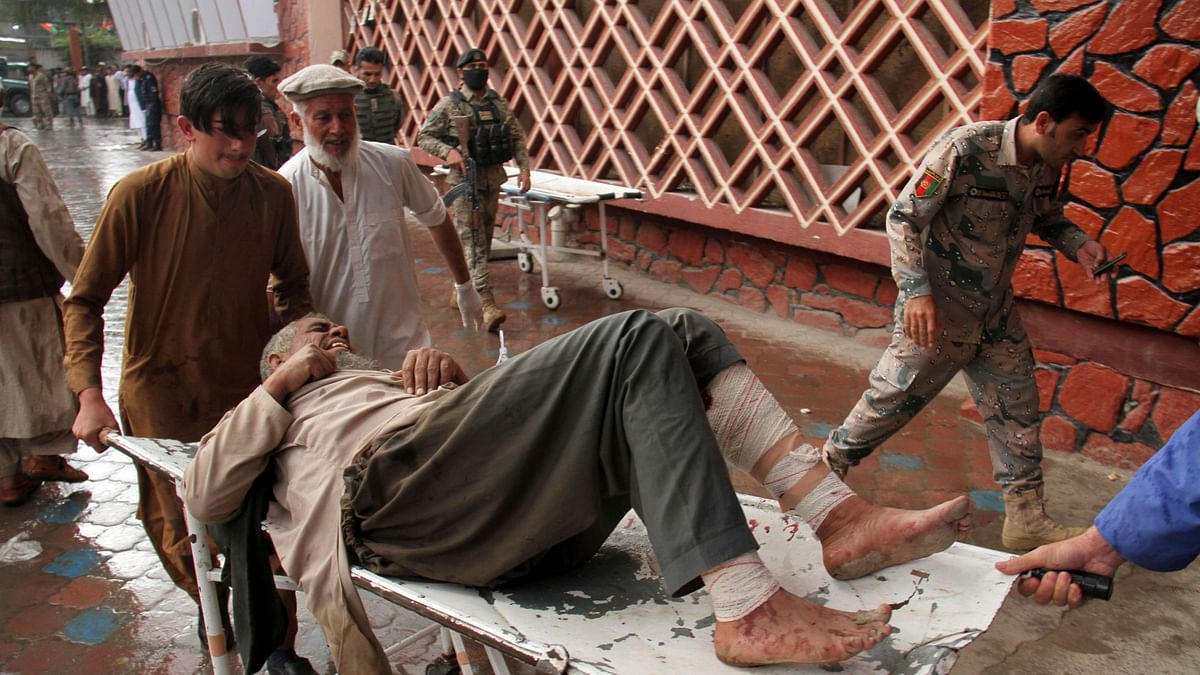 An explosion at a mosque in Afghanistan has killed 62 worshippers.
