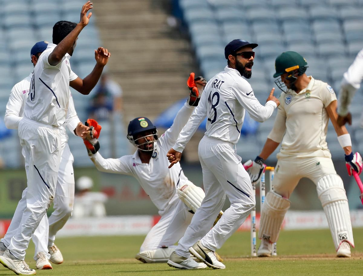 Pune Test, Day 4: India Beat South Africa by an Innings & 137 Runs