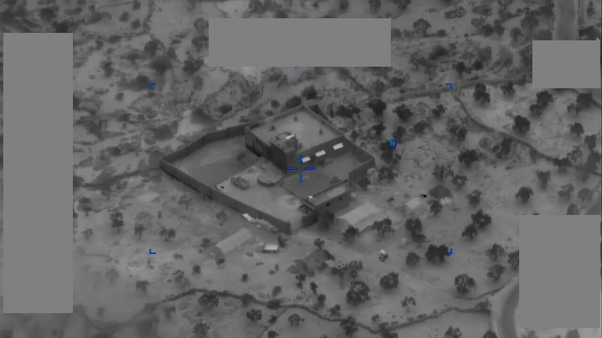 The compound where the US military gunned down Baghdadi