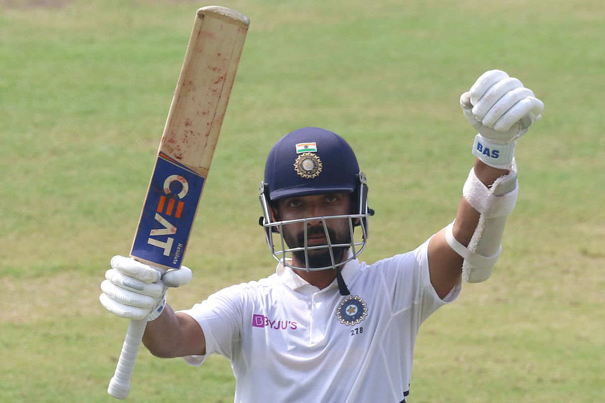 Ajinkya Rahane's 11th hundred (115) in Tests is his third against South Africa.
