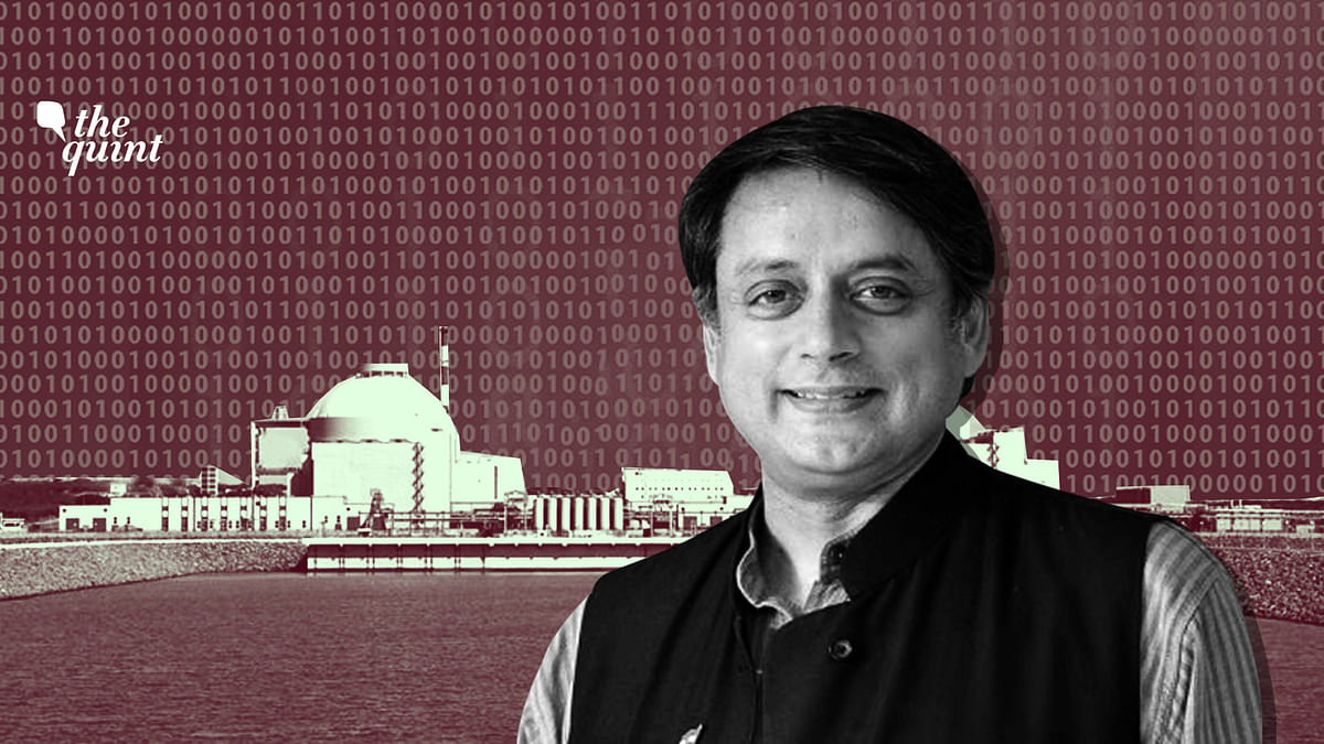 Kudankulam is Over, But Are We Prepared for Next Breach: Tharoor