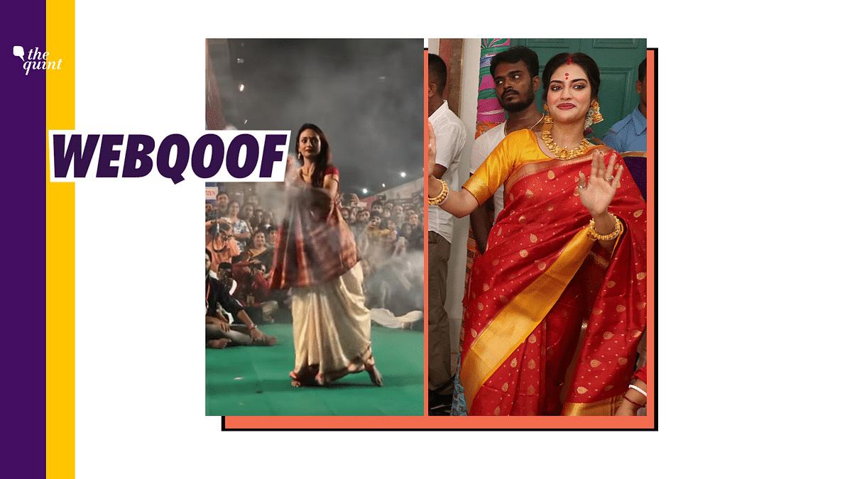 Powai Dancer's Video Passed off as Nusrat Jahan's Durga Puja Dance