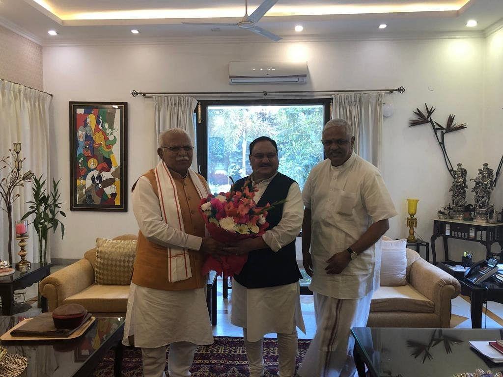 BJP Falls Short of Majority in Haryana, Drama Shifts to New Delhi
