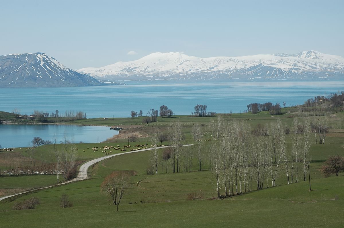 If ever I need to isolate myself from the bustling, driving world and its turmoil and seek refuge in a tranquil, dreamy place, I would come to Lake Van and lounge in its breezy dells and shady forests