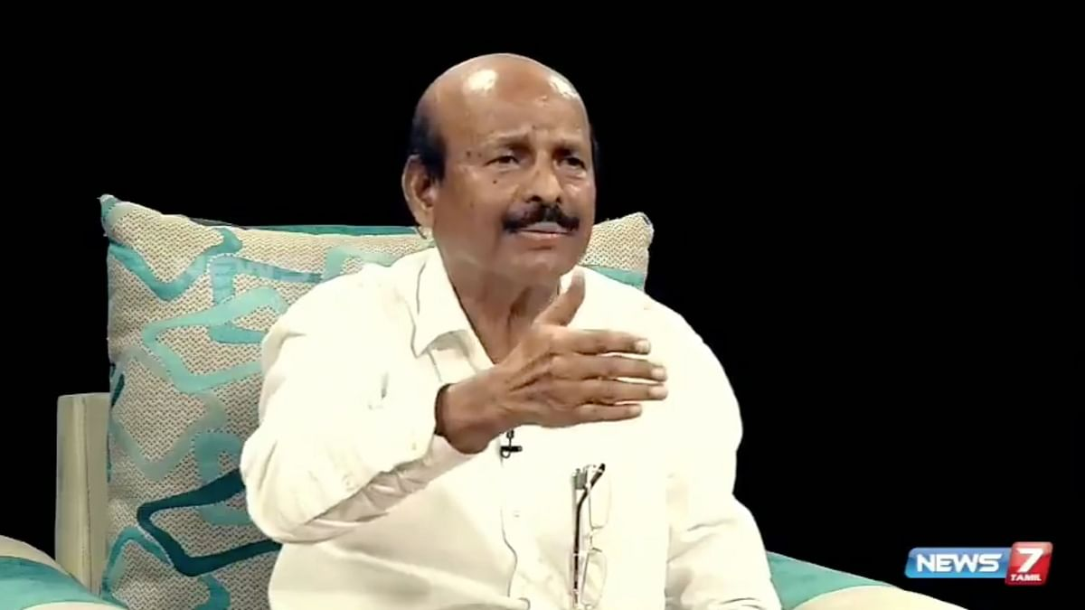 AIADMK veteran leader Ponnaiyan said that the wind has to be booked for the accident in which Subhasri died due to an illegal banner.