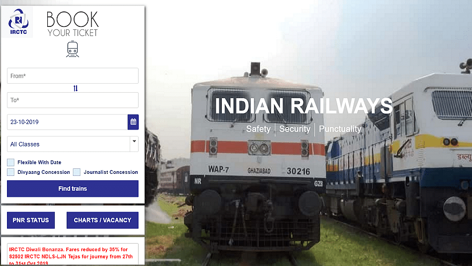 Indian Railways: Here's How to Create  an Account on IRCTC Website