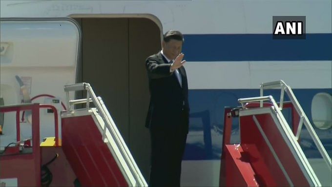 Chinese President Xi Jinping left India after the two-day informal summit.