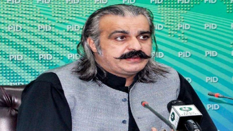 Pakistan Minister for Kashmir Affairs and Gilgit Baltistan Ali Amin Gandapur.