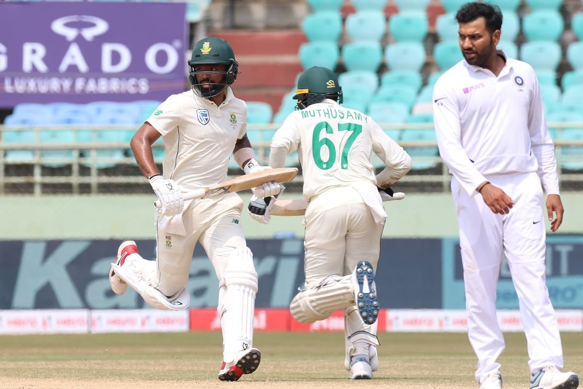 Piedt and Muthusamy frustrated India with their nothing to lose approach.