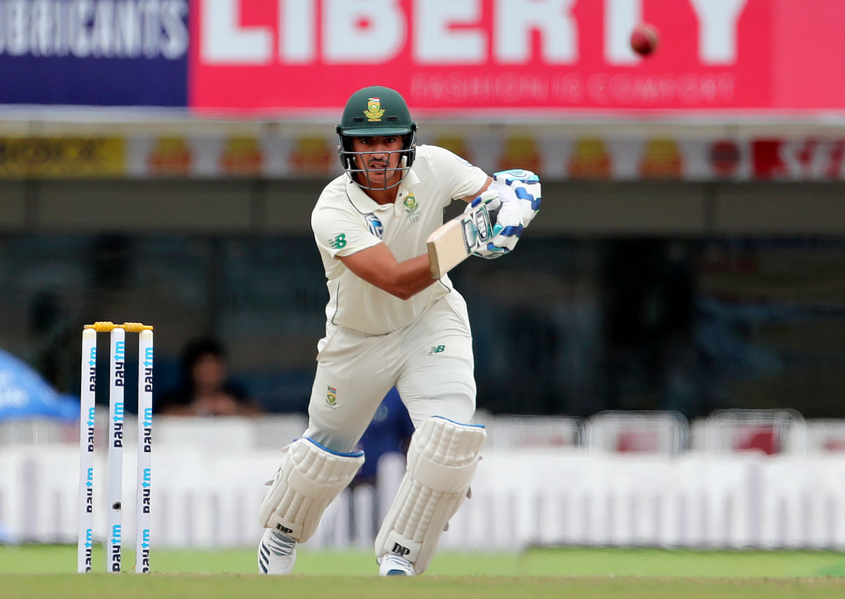 Zubayr Hamza scored his maiden half-century on Day 3 of the third Test between India and South Africa.
