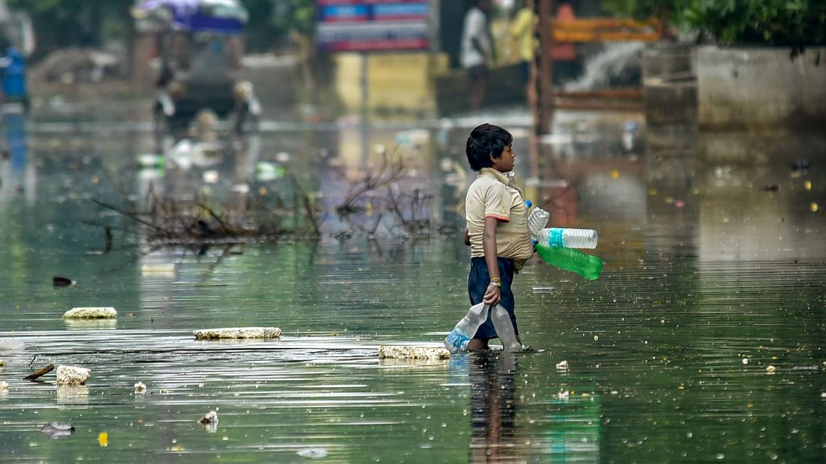 Floating Garbage, Rise in Dengue Cases: Patna Protests Over Floods
