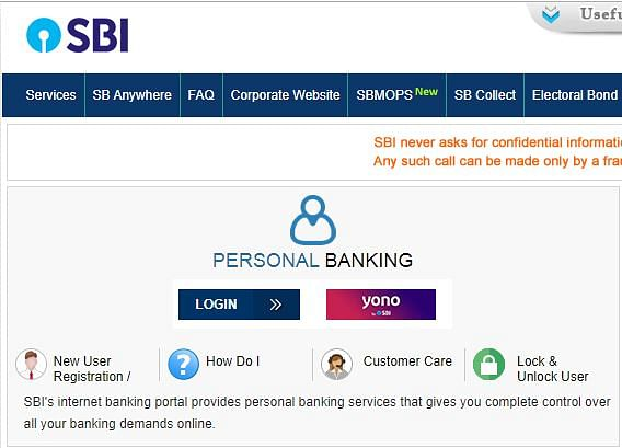 SBI Net Banking: Check How To Register Online.