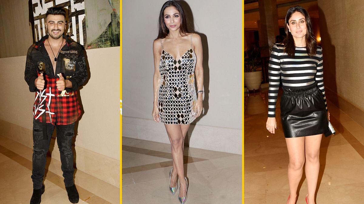 Pics: Arjun, Kareena & Others Attend Malaika's Grand Birthday Bash