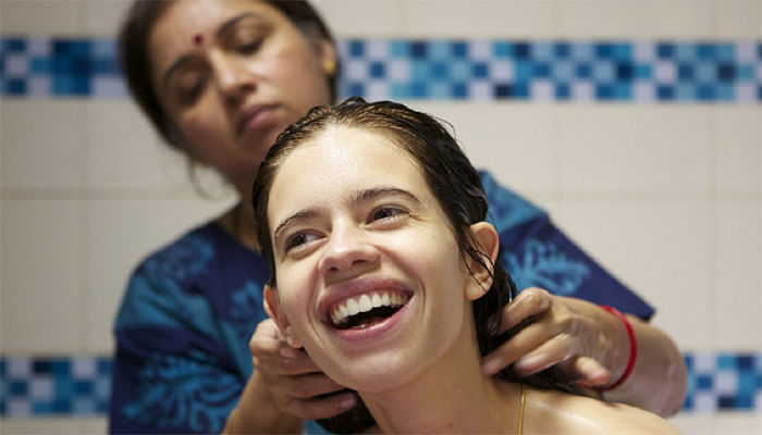 Kalki Koechlin and Revathi in <i>Margarita, With A Straw</i>.