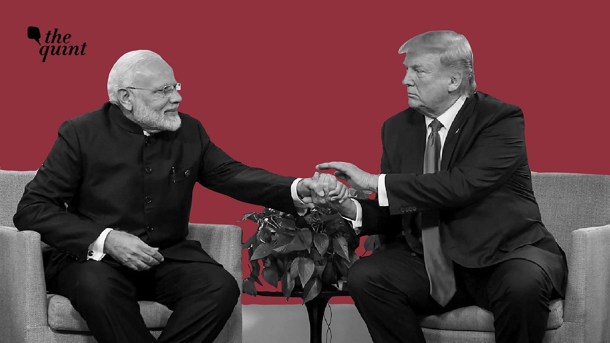 File photo of PM Modi and US President Donald Trump.