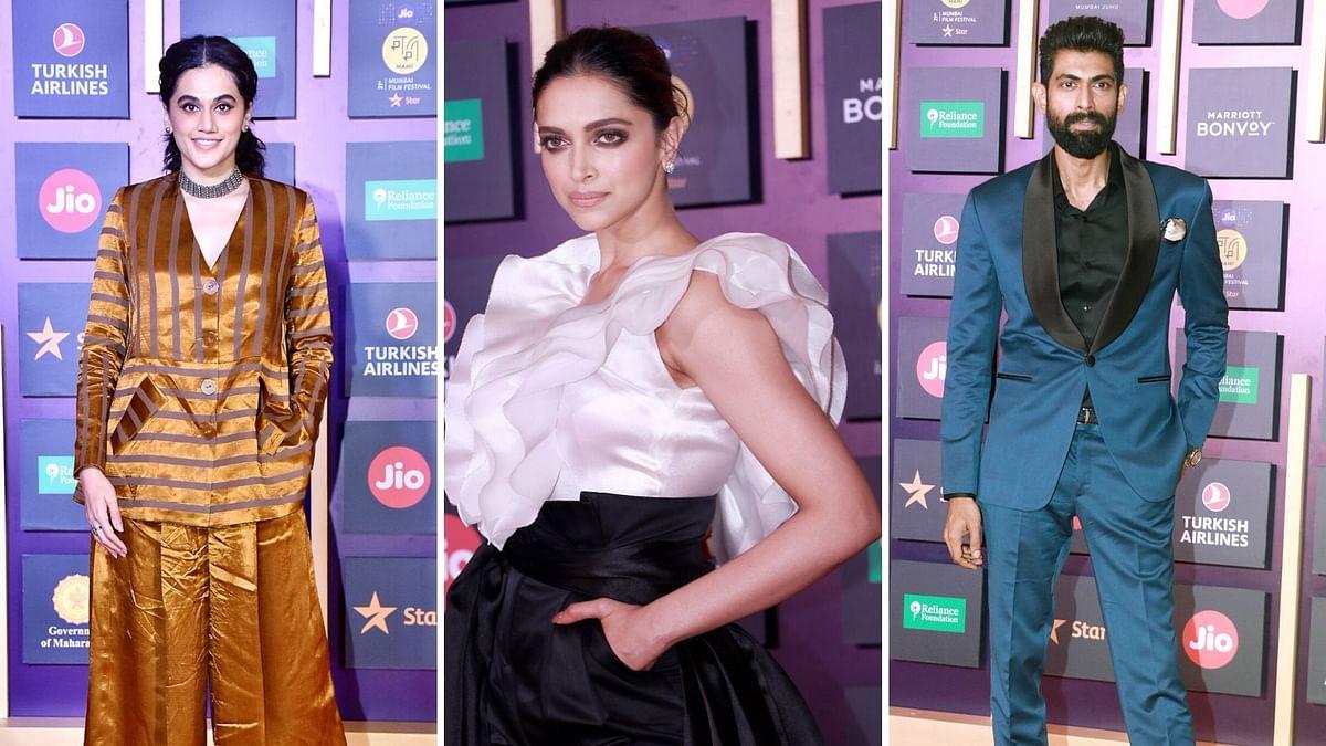 In Pics: Deepika, Taapsee Look Stunning at MAMI Closing Ceremony