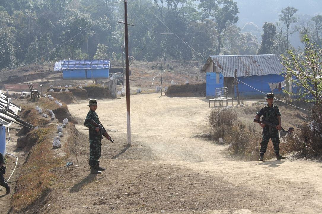 NSCN-IM camp in Manipur, 2015.
