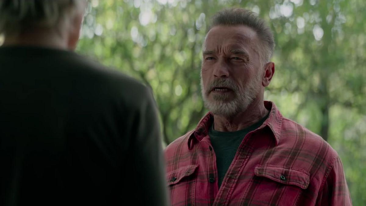 Arnold Schwarzenegger in <i>Terminator: Dark Fate.</i>
