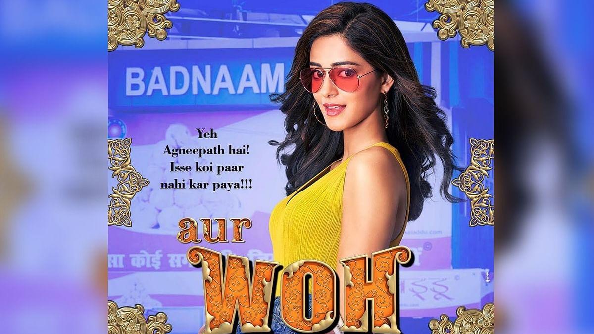 'Pati, Patni Aur Woh' Showcases Empowered Women: Ananya Panday