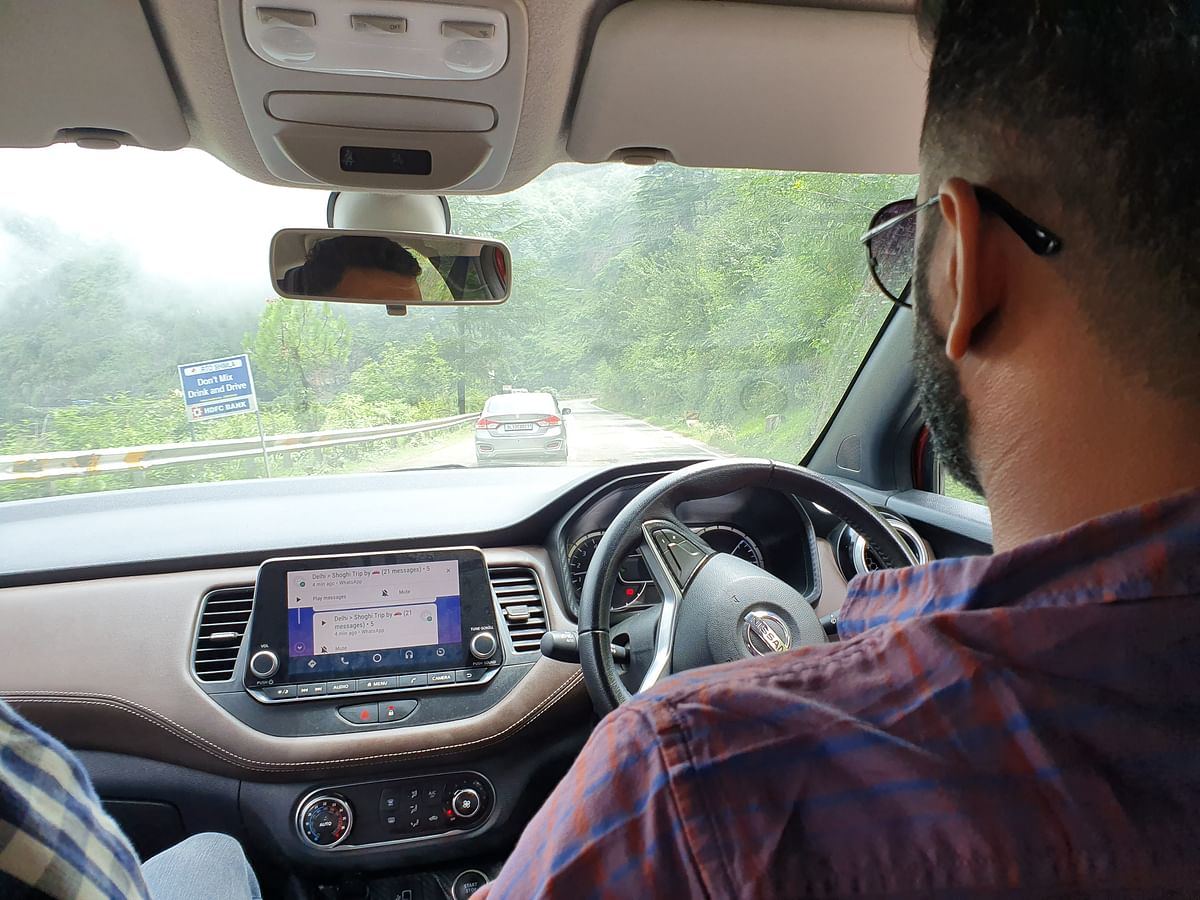 Make sure the car has a good infotainment system. Always helps during long trips.