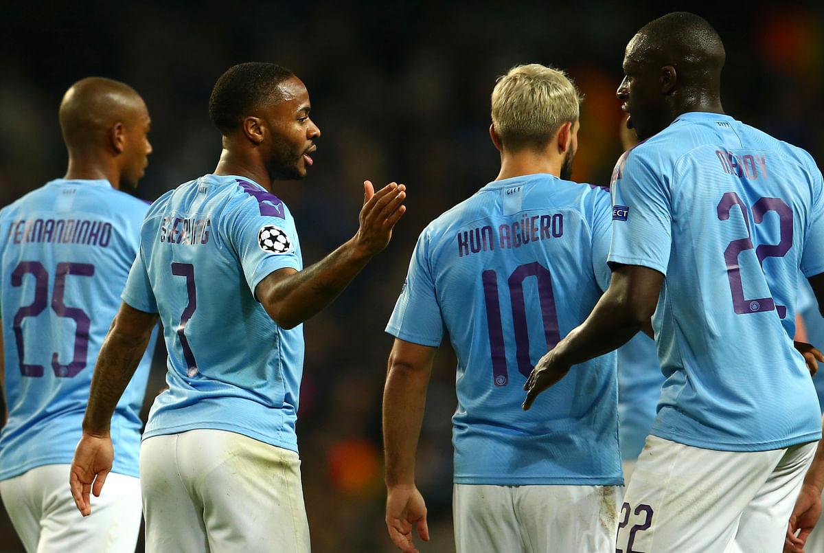 Champions League: Sterling Nets Hat-Trick as City bt Atalanta 5-1