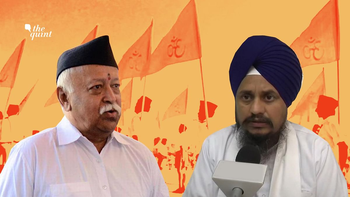 Akal Takht Chief Calls For Ban On RSS, Slams  Hindu Rashtra Demand