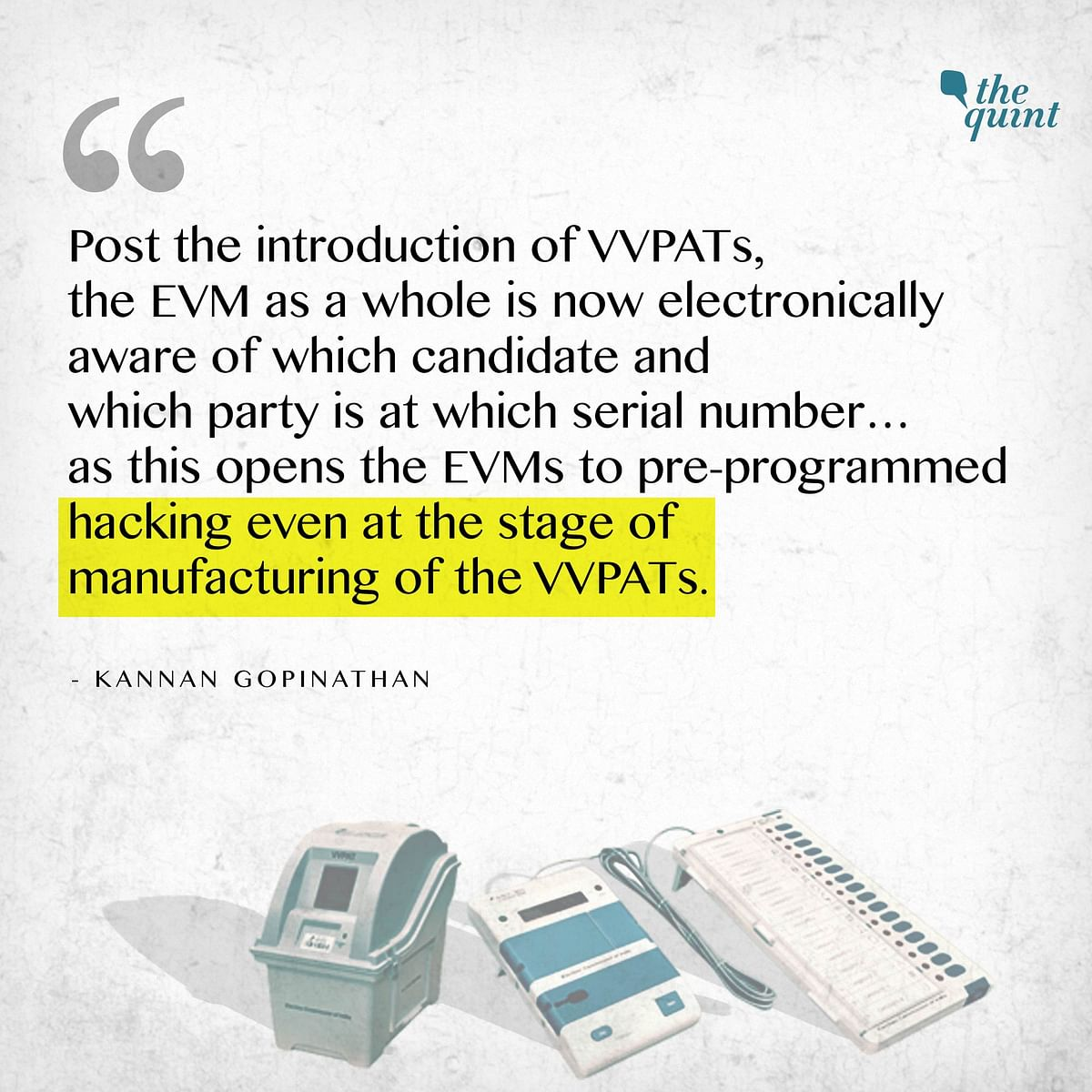 EC Probes How EVM-VVPAT Glitches Are Prone to Manipulation