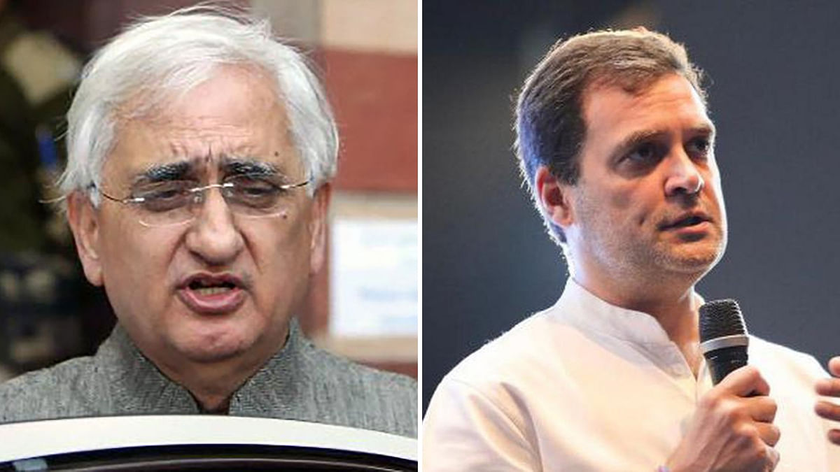 After 'Blaming' Rahul for Cong's Plight, Khurshid Clarifies Remark