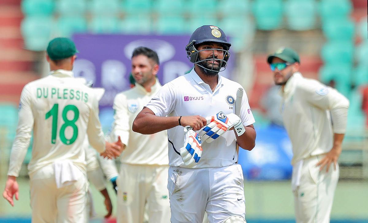 Mayank Agarwal's Double Century Takes India to 450/5 at Tea