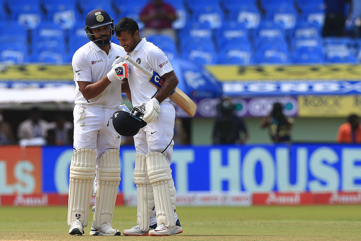 Rohit and Agarwal did not take long to register India's highest opening stand against South Africa.