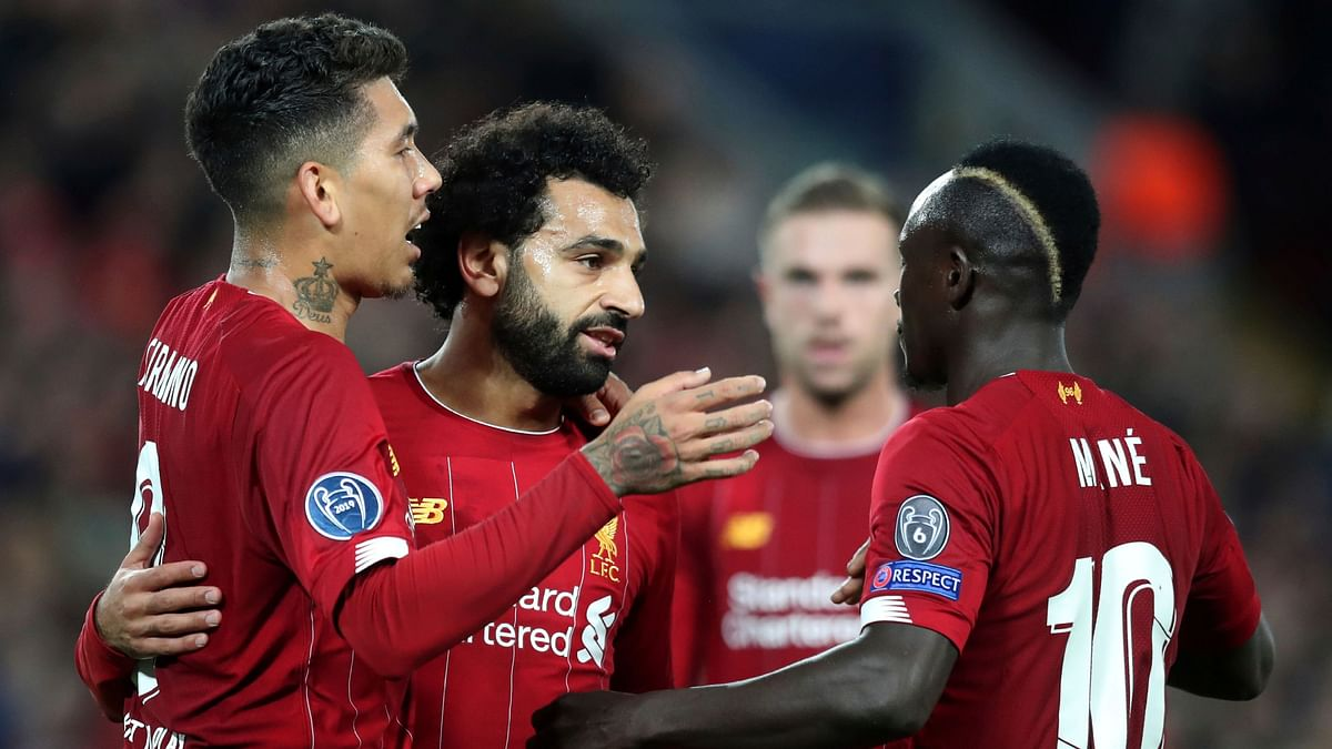 Mohamed Salah's 69th-minute strike earned Liverpool a wild 4-3 win in the Champions League.