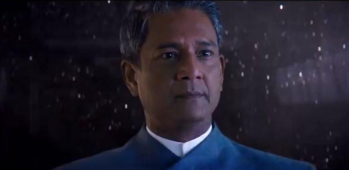 Adil Hussain in <i>Star Trek: Discovery.</i>