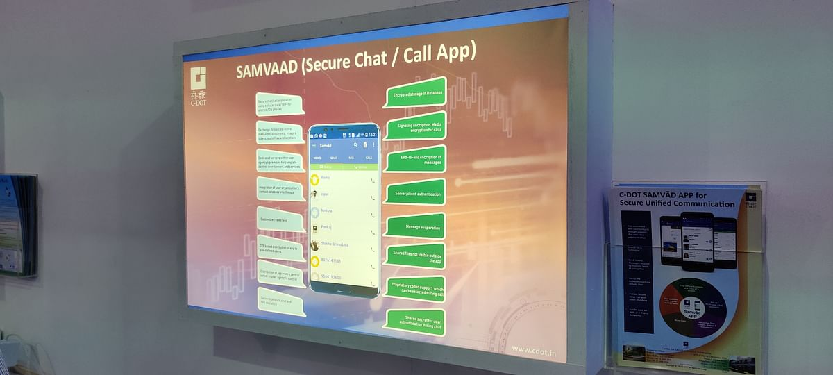 What Samvaad offers for the users.